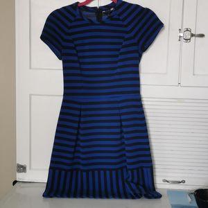 Ted Baker black and blue dress